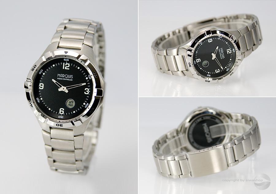 Sportliche-Herren-Funk-Armbanduhr-m-Junghans-Werk-Edelstahl-Funkuhr-964-4701-79
