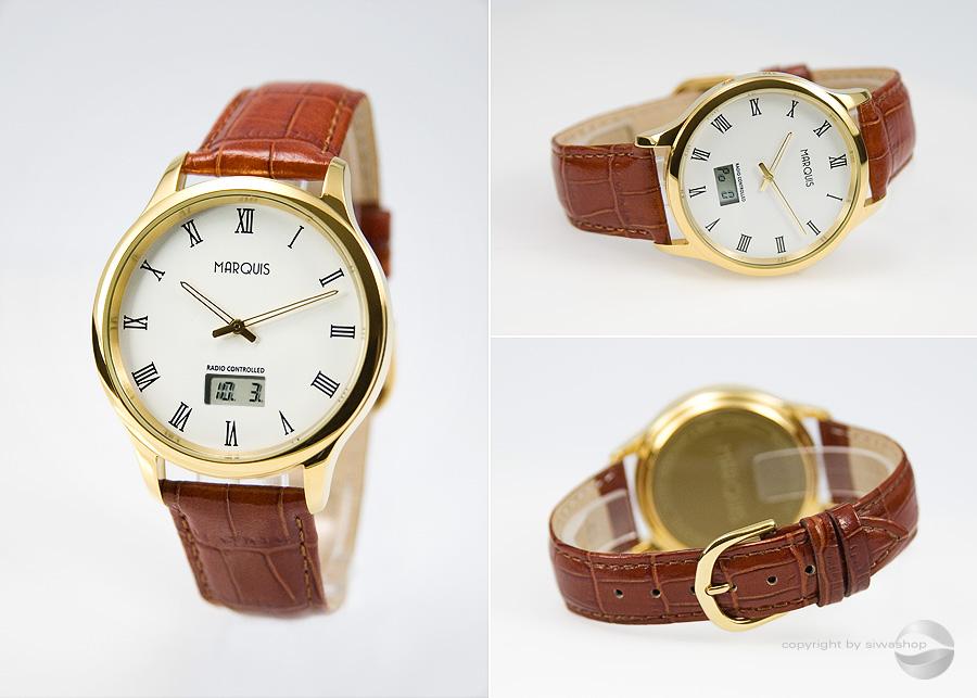 Elegante-Herren-Funkarmbanduhr-mit-JUNGHANS-WERK-Leder-Armbanduhr-964-4702-78